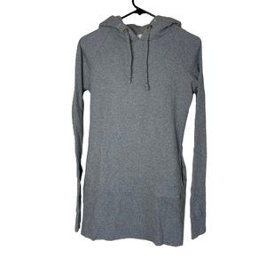 Free People Hooded Tunic Gray Size Small